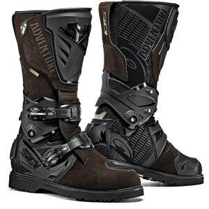 Sidi Adventure 2 Gore-Tex Motorcycle Boots Bottes de moto Brun 44