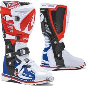 Forma Predator 2.0 Bottes Motocross Blanc Rouge Bleu 47