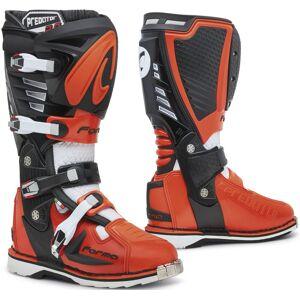 Forma Predator 2.0 Bottes Motocross Noir Blanc Orange 42