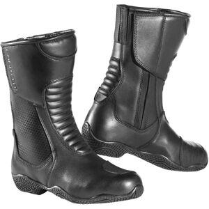Bogotto Zora bottes de moto imperméables pour dames Noir 39