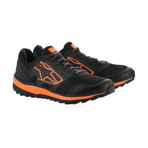 Alpinestars Meta Trail Chaussures de moto Noir Orange 45 46