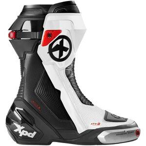XPD XP9-R Bottes de moto Noir Blanc 45