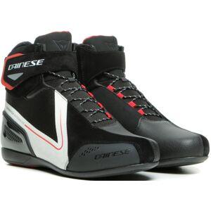 Dainese Energyca D-WP chaussures de moto imperméables à l'eau Noir Blanc 47