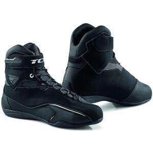TCX Zeta Chaussures de moto imperméables Noir 46