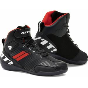 Revit G-Force Chaussures de moto Noir Blanc Rouge 39
