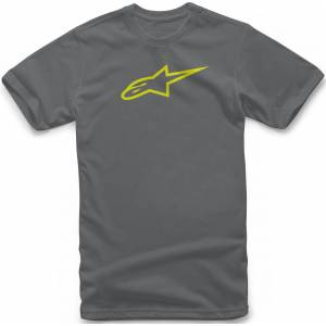 Alpinestars Ageless Classic T-Shirt Gris Jaune M