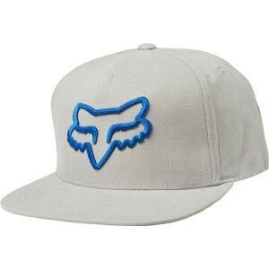 FOX Instill Snapback Chapeau Gris Bleu unique taille