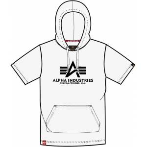 Alpha Industries Basic Hooded T-Shirt Blanc 2XL