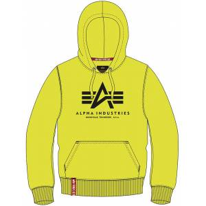 Alpha Industries Basic Neon Capuche Jaune 3XL