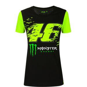 VR46 Monster Monza T-shirt Dames Noir Jaune L