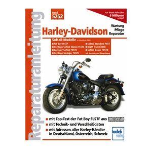 Motorbuch Vol. 5252 Réparation manuelle HARLEY DAVIDSON Softail modèles avec carburateur et E
