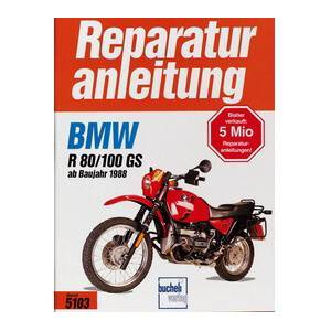 Motorbuch Vol. 5103 Réparation manuelle BMW R 80/100 GS, 88-97