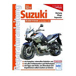 Motorbuch Vol. 5277 Instructions de réparation SUZUKI DL 650 V-courant 04-