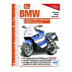 Motorbuch Vol. 5276 Réparation instruction BMW K 1200 S, K 1200 R, K 1200 R Sport, K 1200 GT 0