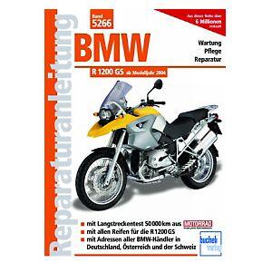 Motorbuch Vol. 5266 Repair manuel BMW R1200 GS, 04-