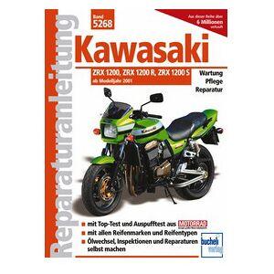 Motorbuch Vol. 5268 Instructions de réparation KAWASAKI ZRX 1200R/S, 01-