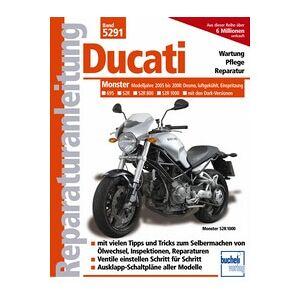 Motorbuch Vol. 5291 Rép-travail manuel DUCATI Monster 695, S2R, S2R 800, S2R 1000, 05-08