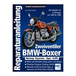 Motorbuch Réparation manuel BMW Boxer deux soupapes avec U-swing 1969-1985