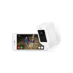 ring Système de sécurité sans fil Spotlight Cam Battery - Blanc