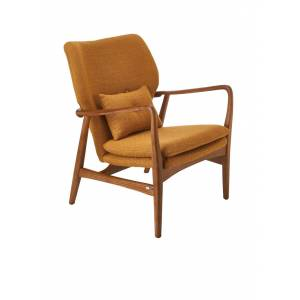 pols potten Chaise Peggy fauteuil - Donkergeel