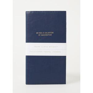 frank lloyd Carnet de voyage 21 x 11 cm - Bleu foncé