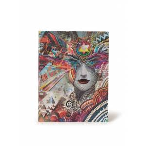 paperblanks Cahier vierge Ultra Revolution - Rouge