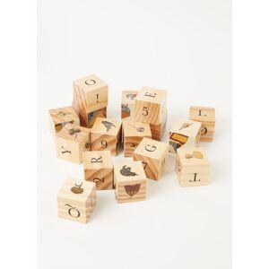 Konges Sløjd konges slojd Puzzle bloc 16 pièces - Marron clair
