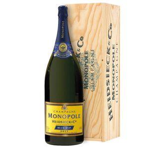 Heidsieck & Co. Monopole - Champagne Champagne Brut AOC Blue Top Heidsieck & Co. Monopole Jeroboam 3 ℓ, Boite en bois