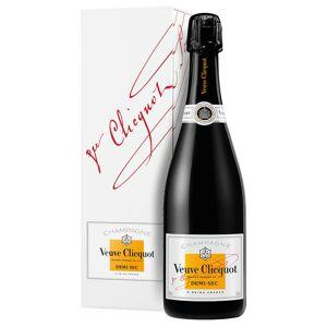 Veuve Clicquot - Champagne Champagne Demi-Sec AOC Veuve Clicquot 0,75 ℓ, Avec caisse