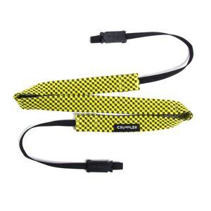 Crumpler Check Camera Strap cameo grey/ yellow lemon