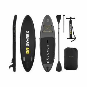 Gymrex Stand up paddle gonflable - 135 kg - 305 x 79 x 15 cm 10230089