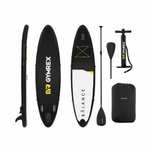 Gymrex Stand up paddle gonflable - 145 kg - 335 x 79 x 15 cm 10230090