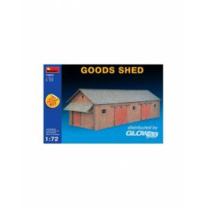 MiniArt 72023 : Goods Shed 1:72