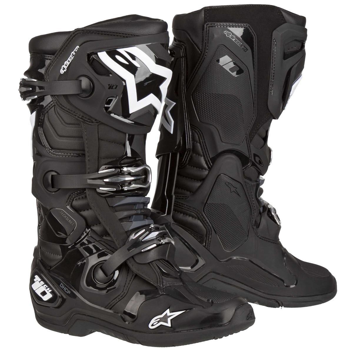 Alpinestars Bottes MX Tech 10 - 42 - Noir