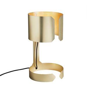 QAZQA Lampe de table design or mat - Valse
