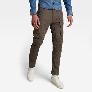 G-Star RAW Pantalon Rovic Zip 3D Straight Tapered - Gris - Hommes  - 33-32