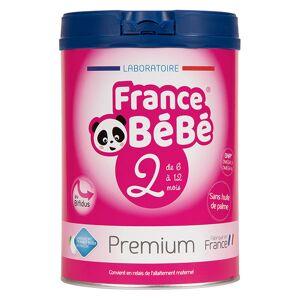 France Bébé Nutrition France Bébé Premium Lait 2ème Age 800g