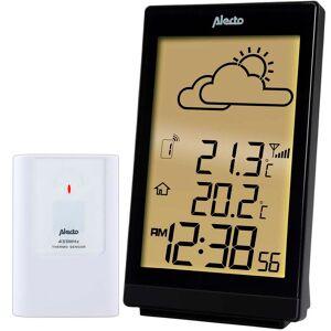 Alecto Station météorologique sans fil WS-2200 Noir
