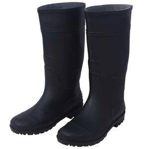 vidaXL Bottes de pluie Pointure 43 Noir