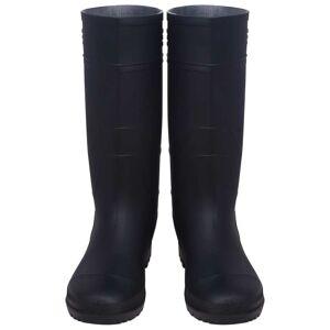 vidaXL Bottes de pluie Pointure 44 Noir