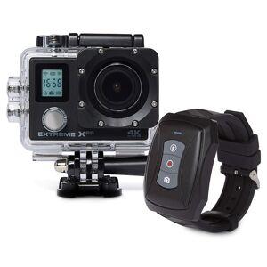 VIZU Caméra d'action X8S 4K Wi-Fi avec télécommande