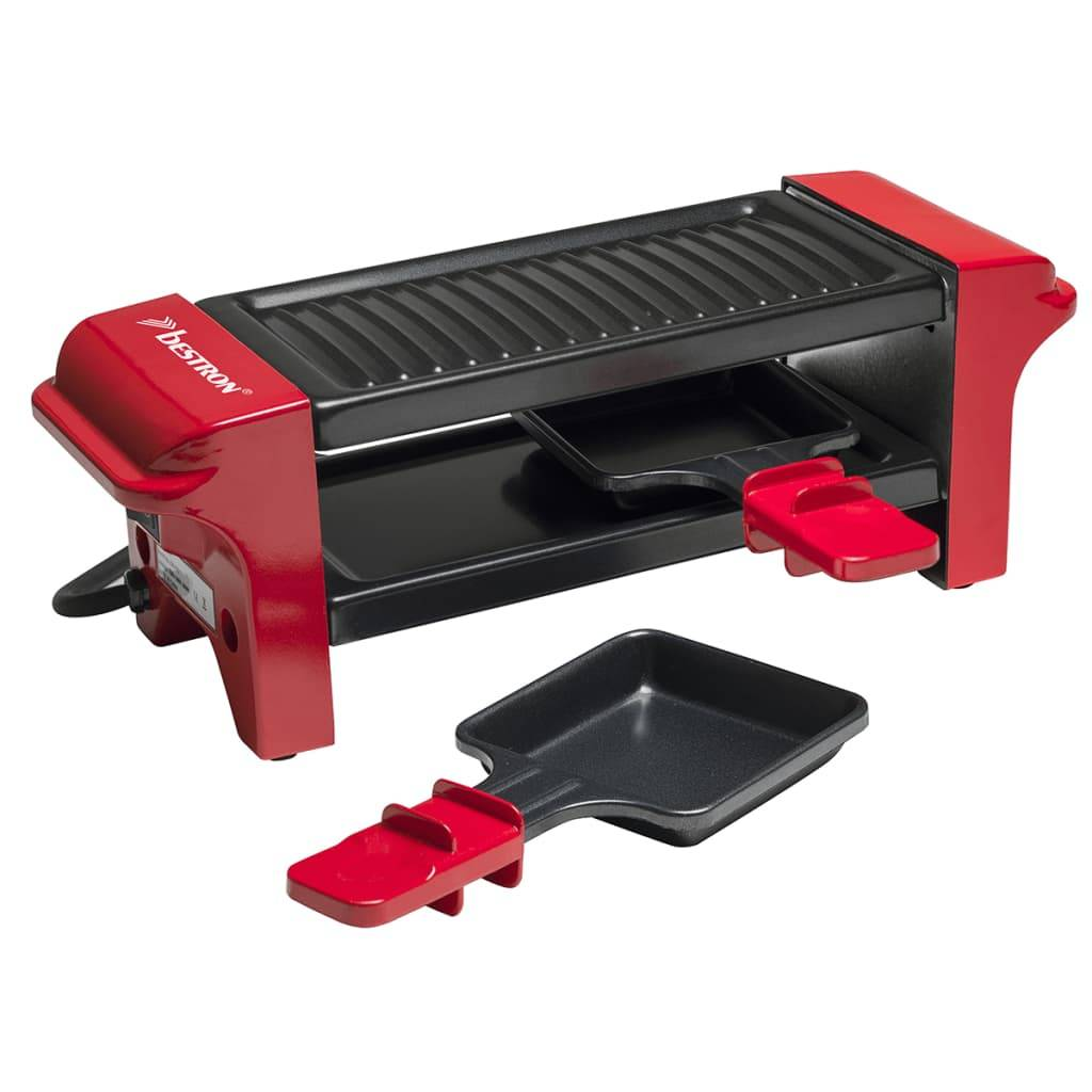 Bestron Appareil à raclette gril 350 W AGR102