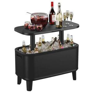 Keter Table à glacière Bevy Bar Anthracite