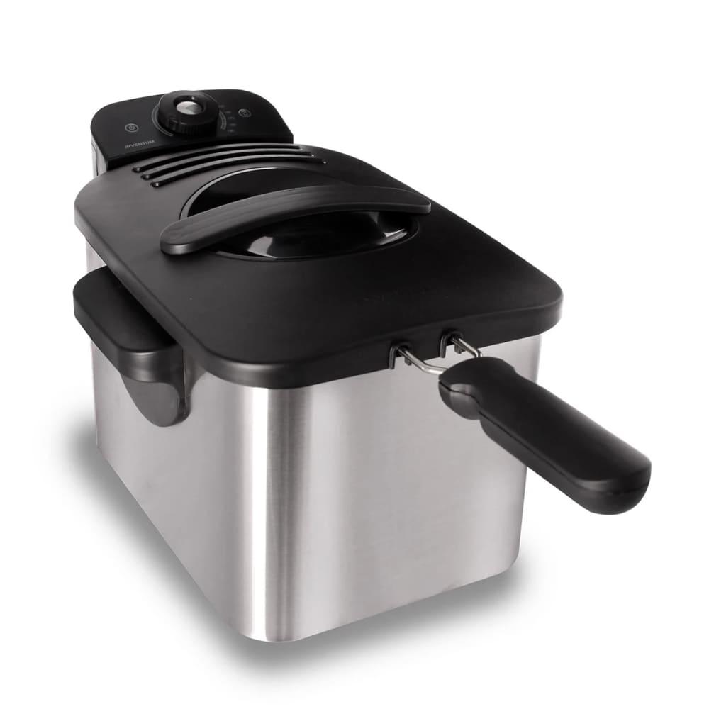 Inventum friteuse cool zone en acier inoxydable 3 L GF431S