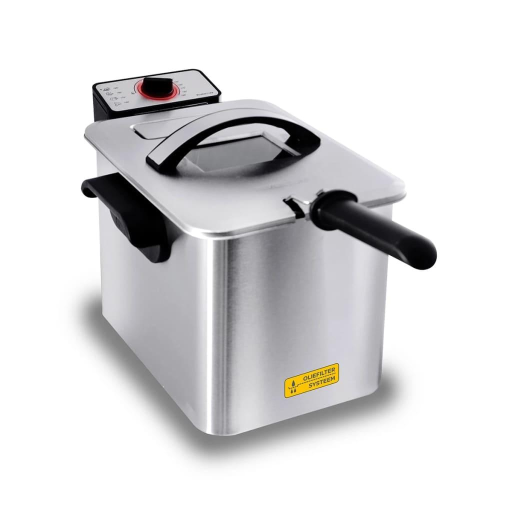 Inventum friteuse cool zone en acier inoxydable 4 L GF645F