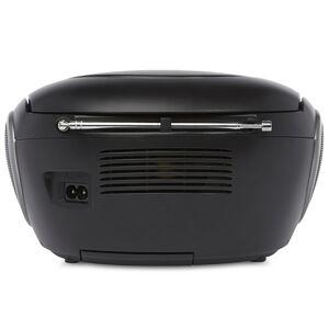 Nikkei Lecteur CD avec radio FM et USB NPRC56BK 14 W Noir