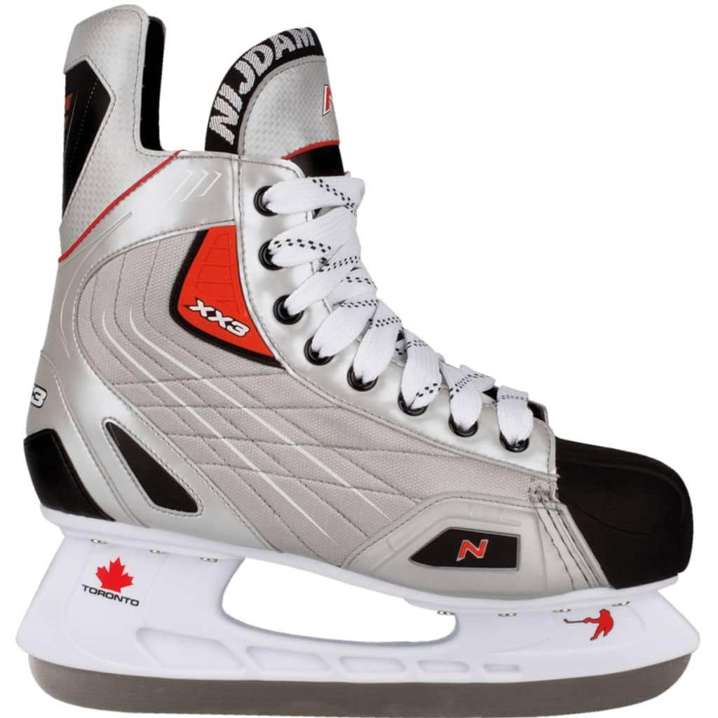 Nijdam patins de hockey sur glace polyester Pointure 38 3385-ZZR-38