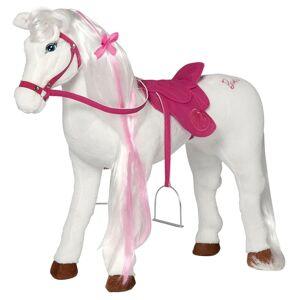 Barbie Cheval jouet Majesty avec son 81 cm Blanc et rose