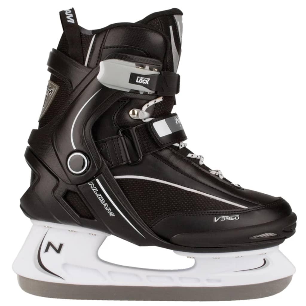 Nijdam patins de hockey sur glace taille 43 3350-ZWW-43