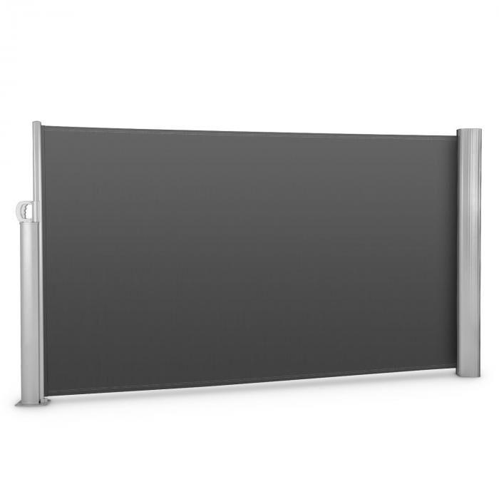 Blumfeldt Bari 316 Store latéral 300x160cm aluminium anthracite